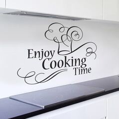 Enjoy Cooking Time Wall Art