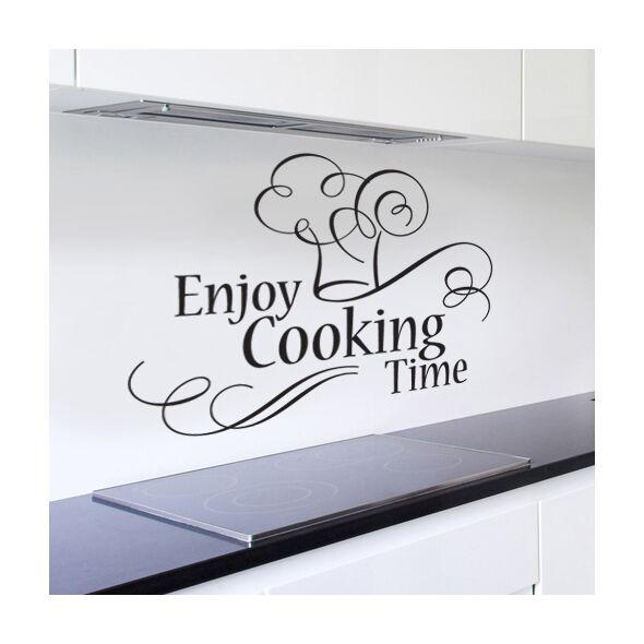 Enjoy Cooking Time Wall Art