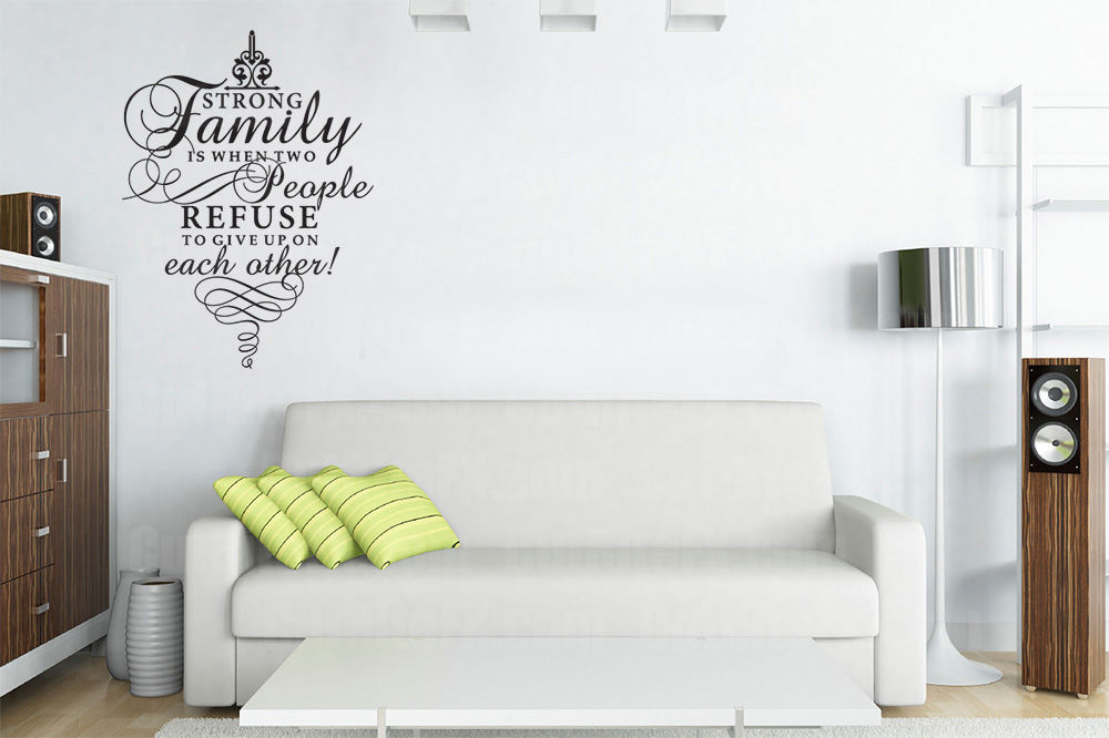 Wall Art :: Refuse to give up wall art decal